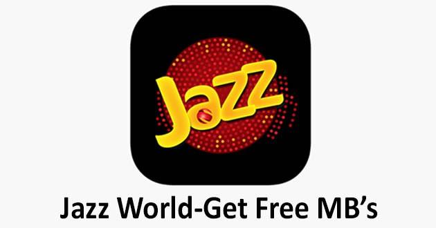 Jazz World - Manage Your Jazz Account