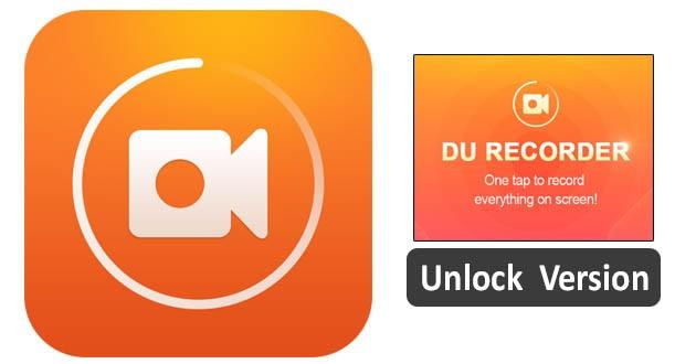 DU Recorder -Free Screen Recorder & Music - Unlocked
