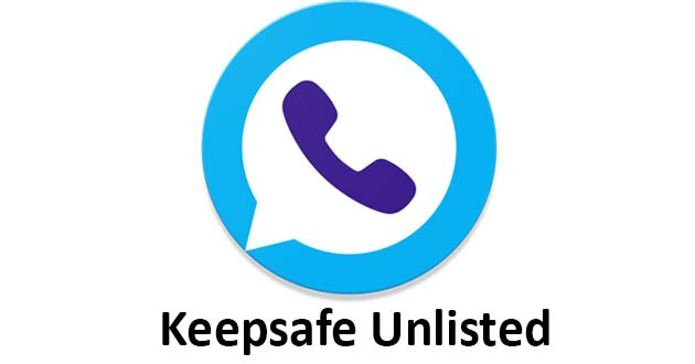 Keepsafe Unlisted - Second Phone Number