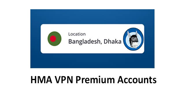 HMA VPN Proxy & WiFi Security, Bangladesh Proxy VPN