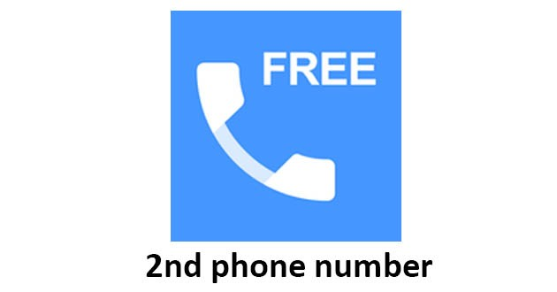 2nd phone number - free private call and texting