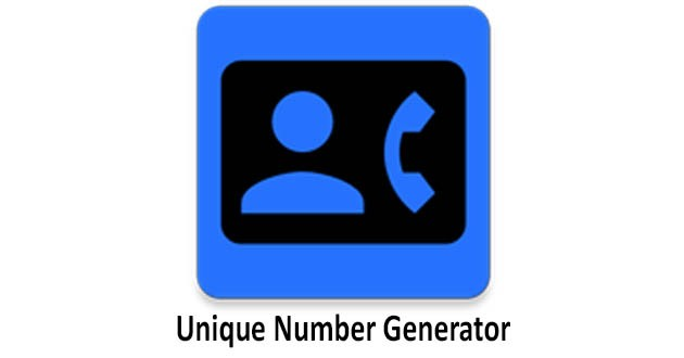 Unique Phone Number Generator for Android - APK Download