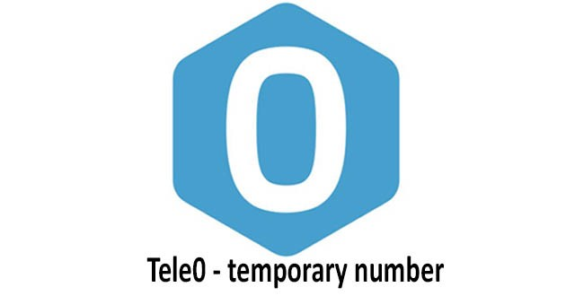 Tele0 - additional/temporary phone number
