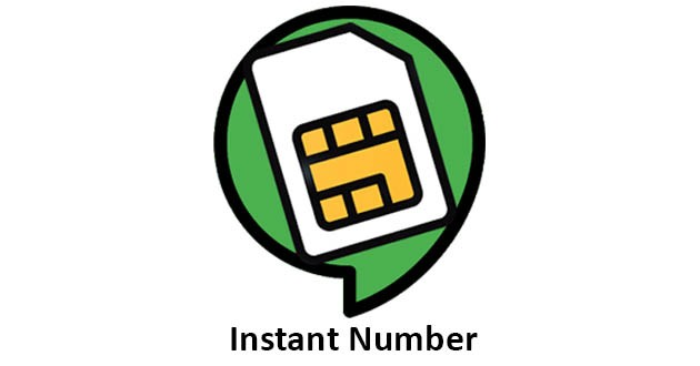 instantNumber - Messaging without SIM Phone Number