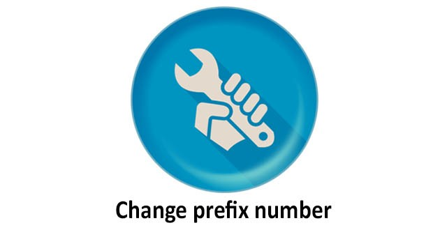 Change prefix number for Android - APK Download