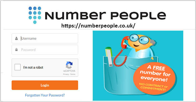 Number People.co.uk: Free Virtual Phone Number