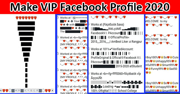 Facebook New Stylish Bio 2020 | Vip Stylish Bio For Facebook | Long Styles Bio