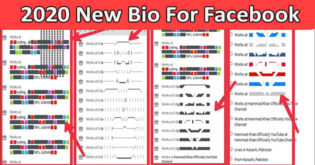 How to Add Facebook Stylish Bio 2021 - Cool And Stylish Profile Bio