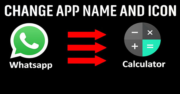 Change Application Name & Icon