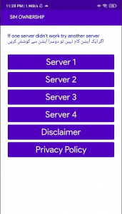 Sim Owner Details Pakistan APK Download